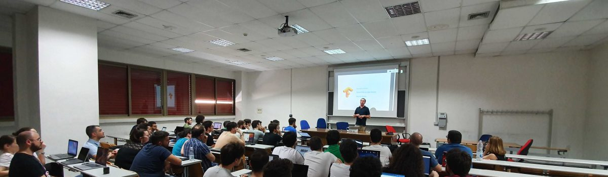 "Workshop su ""Machine learning in the browser"" di Marcus Winter"